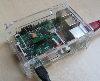 868 MHz Wetterdatenempfänger mit RX868 und Raspberry Pi
